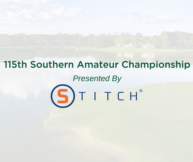 STITCH® Golf Partners with SGA as Presenting Sponsor for the 115th Southern Amateur Championship