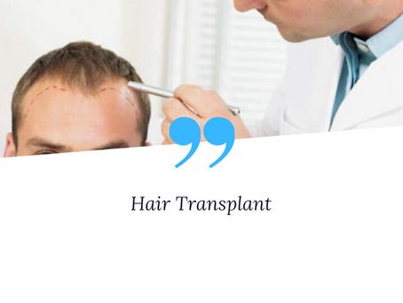 FUE Hair Transplantation and DHI Hair Transplantation Techniques