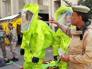 Iraqi scientists participate in a CBRNE security training and learn about the importance of preparedness and multi-sector coordination in strengthening national security.