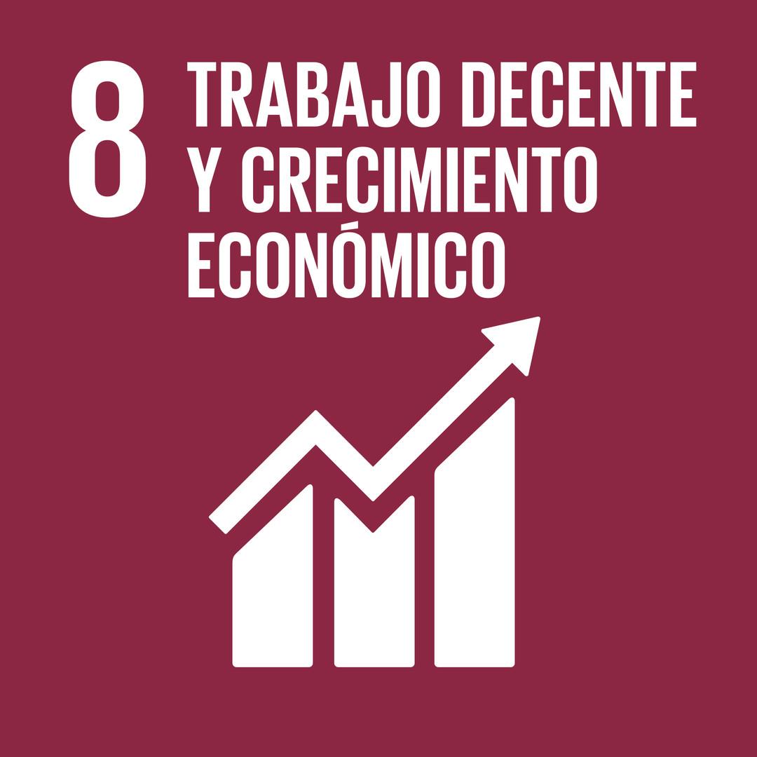 8. Trabajo decente y Crecimiento Económico