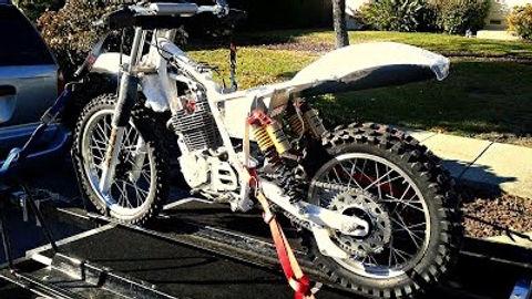 XR500 C&J Mugen replica tribute bike get