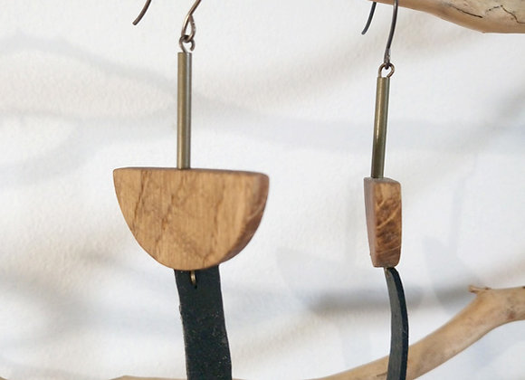 Boucles d'oreille Kapsül – Totem