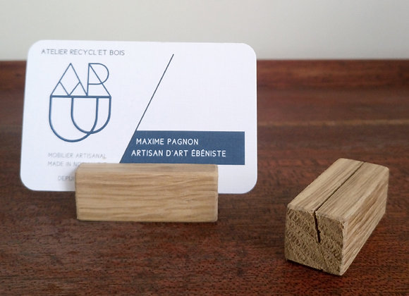 Porte carte étiquette - Kami