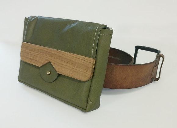 Pochette de ceinture Haika - cuir