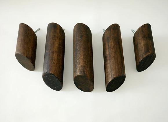 Patères Mood - Wood - Boite de 5 unis