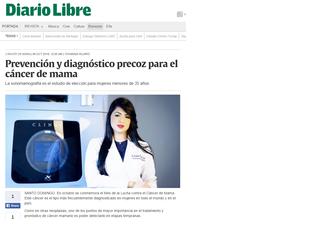 Prevención y diagnóstico precoz para el cáncer de mama