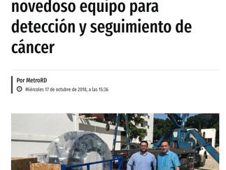 Clínica Abreu trae al país novedoso equipo para detección y seguimiento de cáncer