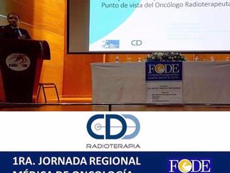 CDD presente en la 1era Jornada Regional Médica de Oncología