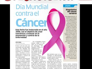 Diario El Nacional: DÍA MUNDIAL CONTRA EL CÁNCER
