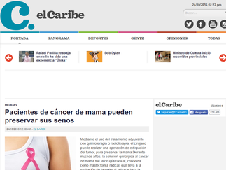 Pacientes de cáncer de mama pueden preservar sus senos