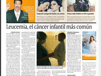 Leucemia, el cáncer infantil más común