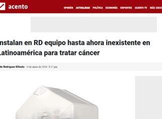 Instalan en RD equipo hasta ahora inexistente en Latinoamérica para tratar cáncer
