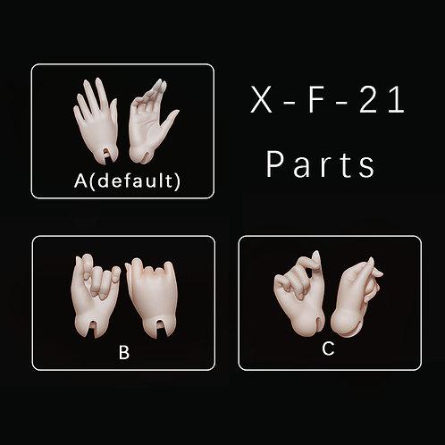 1/6 parts(fits X-F-21)