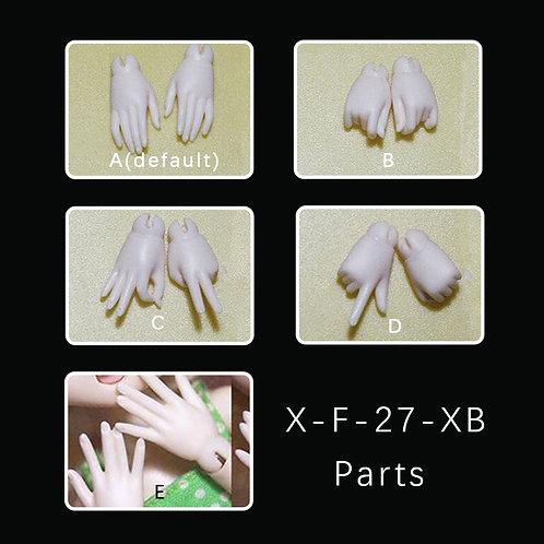 1/6 parts(fits X-F-27-XB/X-M-27)