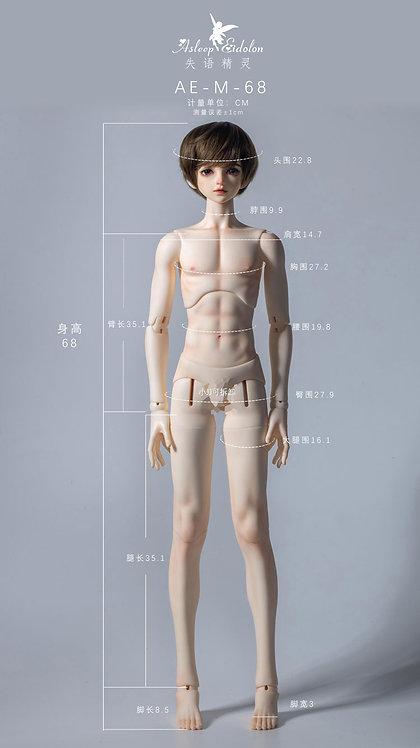 1/3+ 68cm Boy Body(AE-M-68)