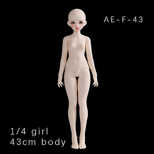 1/4 43cm Girl Body(AE-F-43)