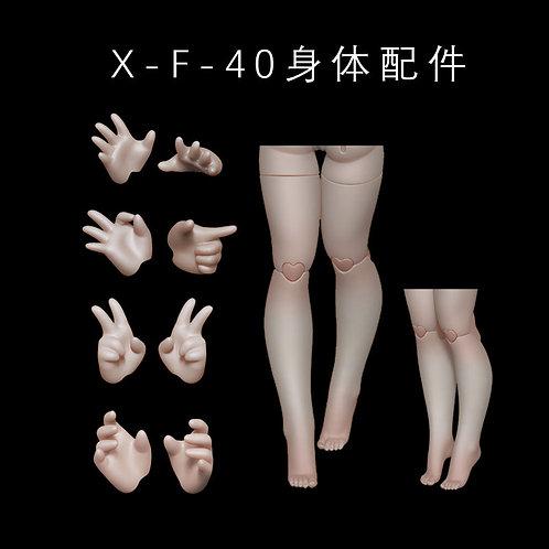 1/4 Girl Parts(fits X-F-40)