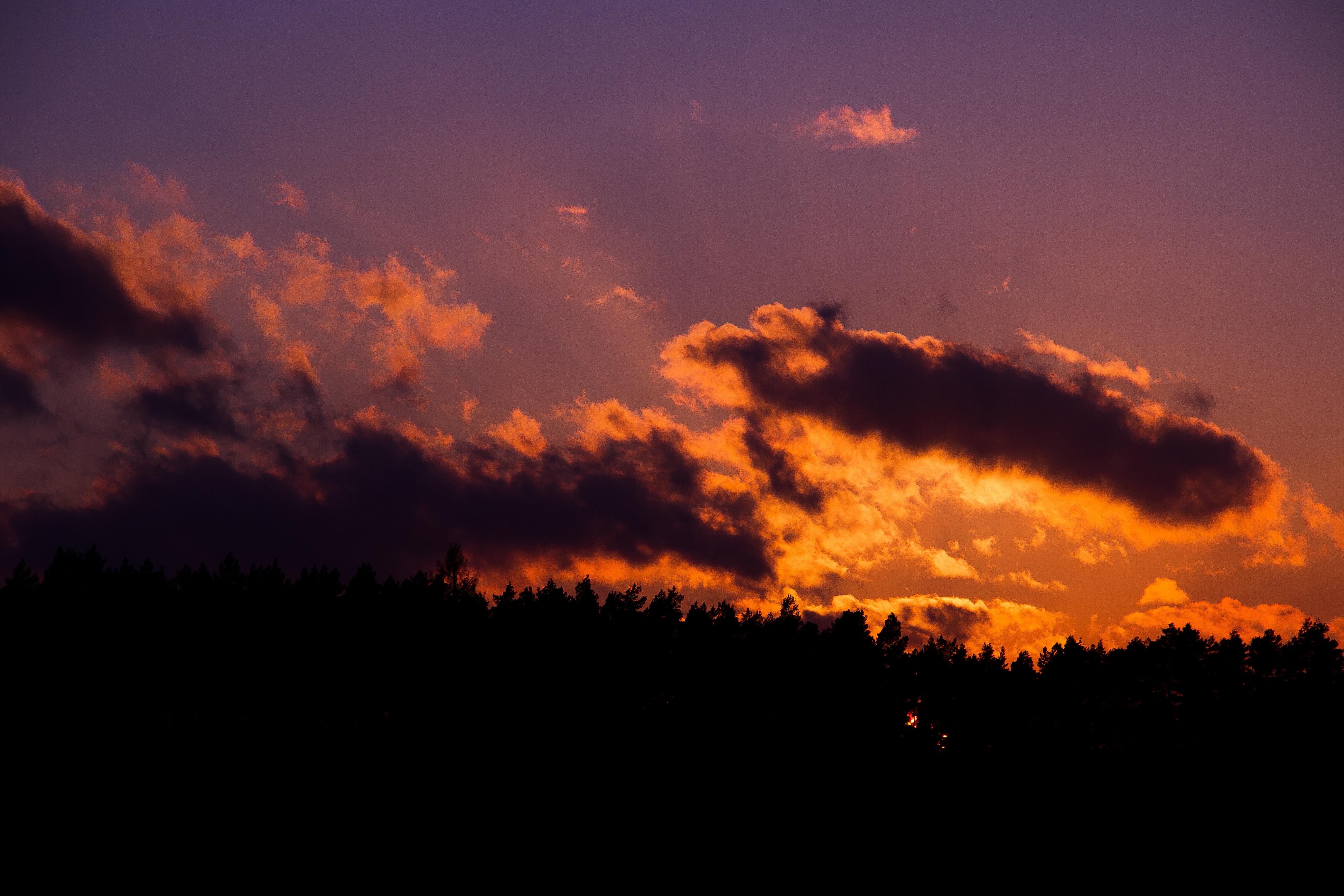 Zachód słońca nad Zalewem Żurskim
