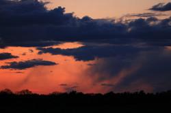 Wschód słońca w Dolinie Dolnej Wisły