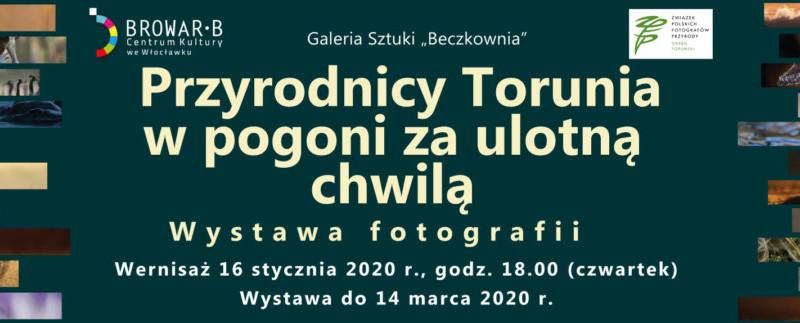 """""""Przyrodnicy Torunia w pogoni za ulotną chwilą"""" - wernisaż wystawy fotografii"""