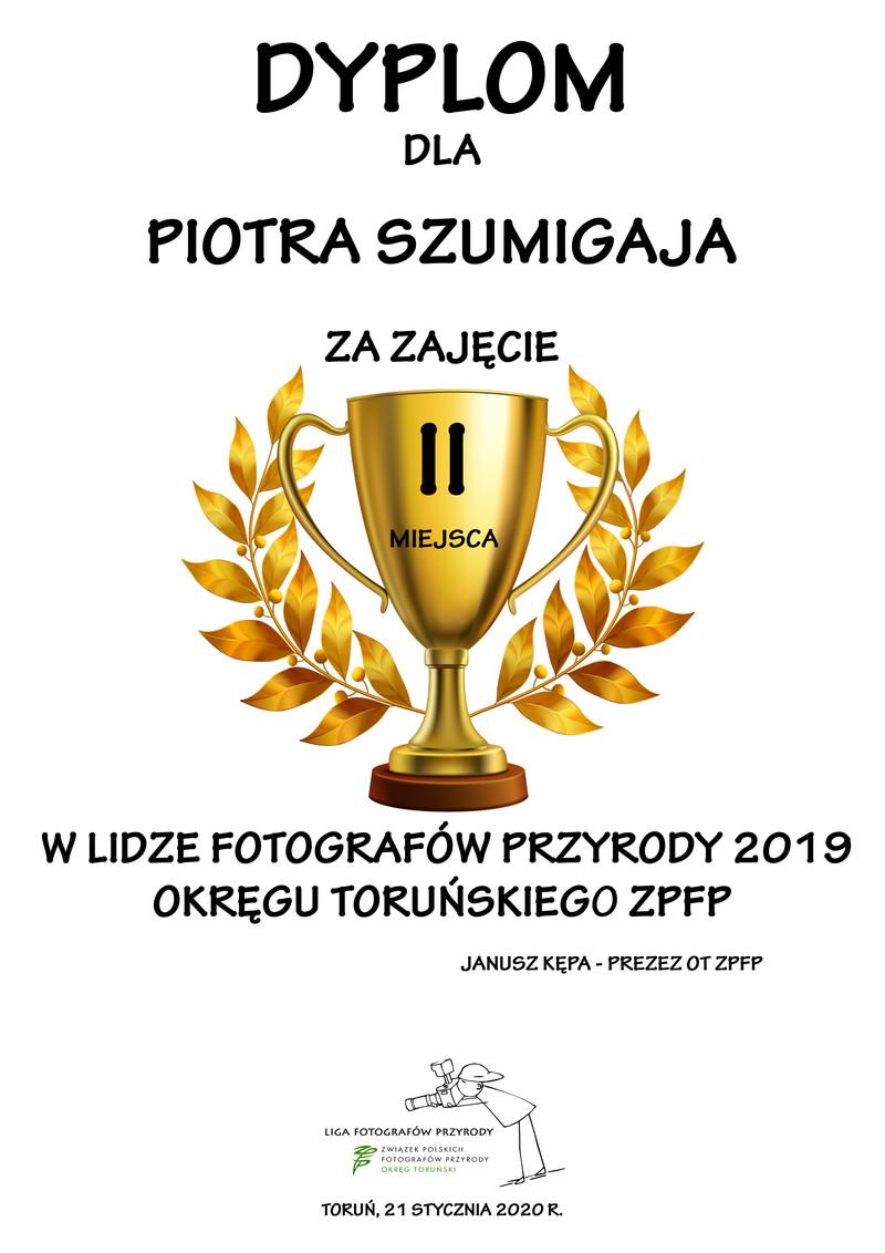Liga Fotografów Przyrody 2019 Okręgu Toruńskiego Związku Polskich Fotografów Przyrody - II edycja
