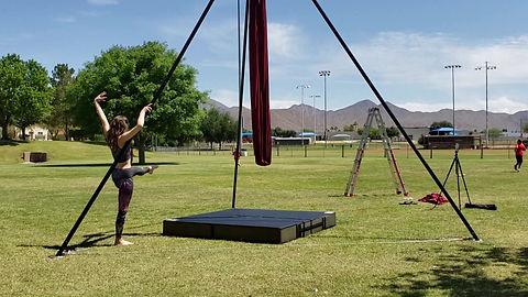 2019 Aerial Student Show Case Desert Air Yoga