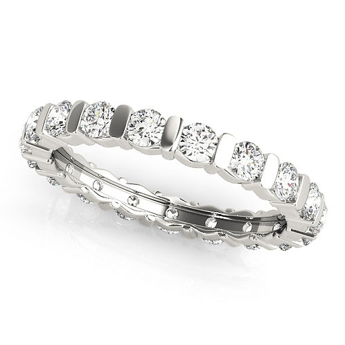 Style# R84405-S7  Diamond Eternity Band