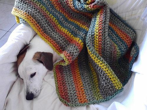 La couverture Douceur d'Automne. Couverture pour chiens