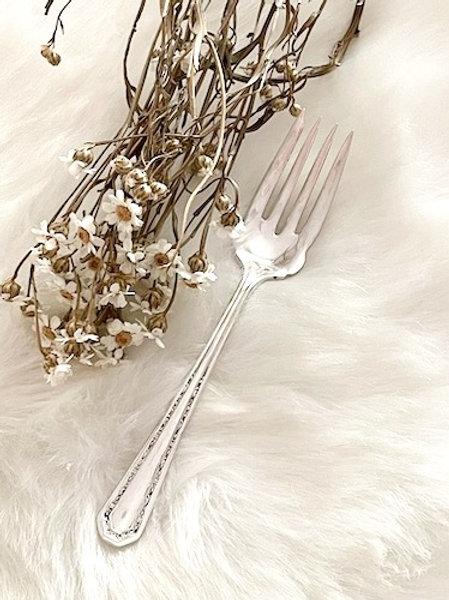 Petite fourchette à DESSERT en Argent à graver selon votre choix