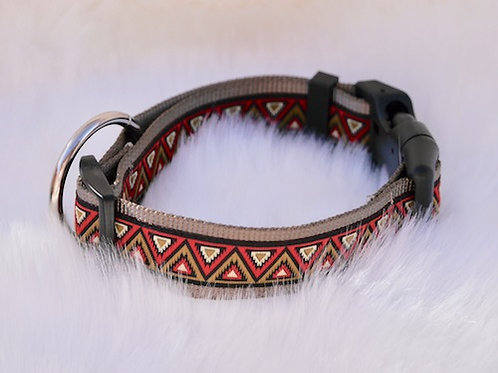 Collier pour chien made in France Tinou Click AZTEQUE