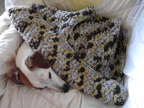 La couverture Tachée. Couverture pour chiens