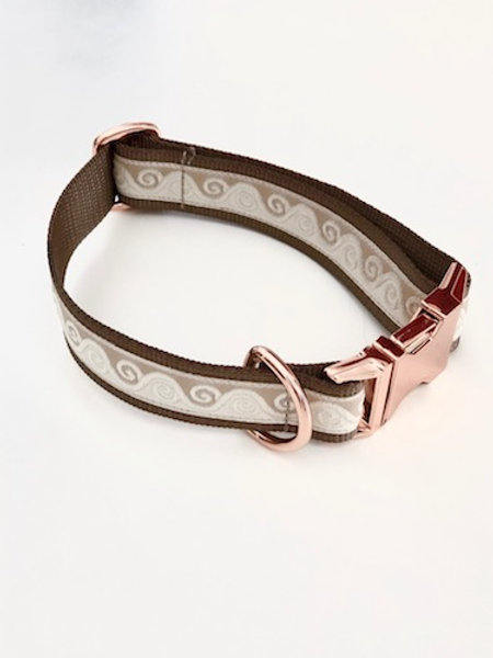 Collier pour chien made in France Tinou Click CELEST LOVE