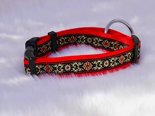 Collier pour chien made in France Tinou Click FESTIVE