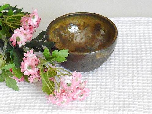 Le Tinou-déjeuner,bol pour croquettes ou eau. Terre Brulée