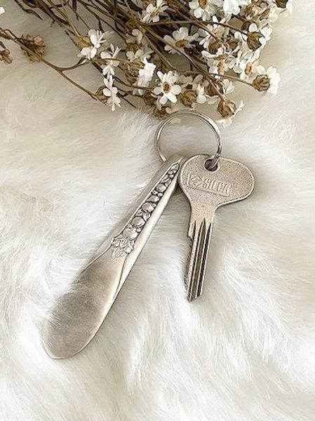 Porte clefs en Argent à graver selon votre choix
