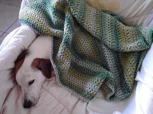 La couverture Feuillages. Couverture pour chiens