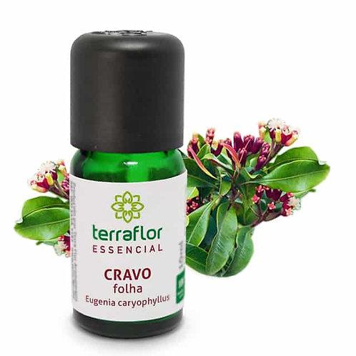 Óleo Essencial de Cravo Folha 10 ml – Terra Flor