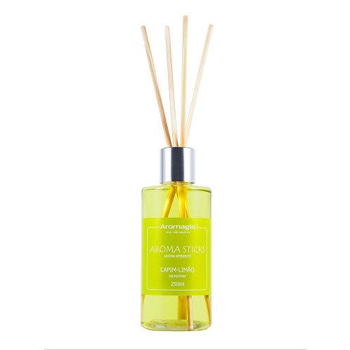Difusor por Varetas Aroma Stiks 250 ml (Capim-Limão) - Aromagia