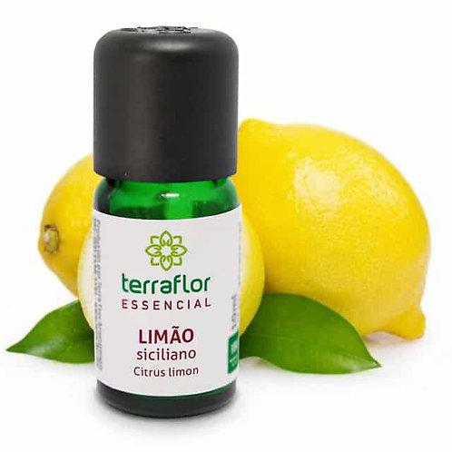 Óleo Essencial  de Limão Siciliano 10 ml – Terra Flor