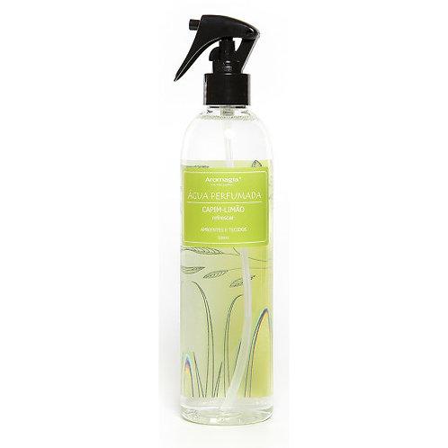 Água Perfumada Capim-Limão 500 ml - Aromagia