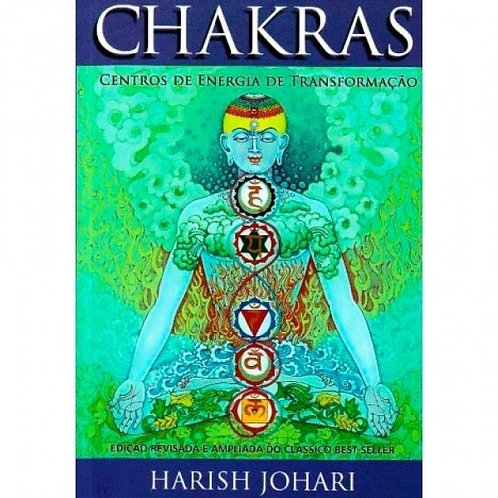 """Livro """"Chakras: Centros de Energia de Transformação"""" - Harish Johari"""
