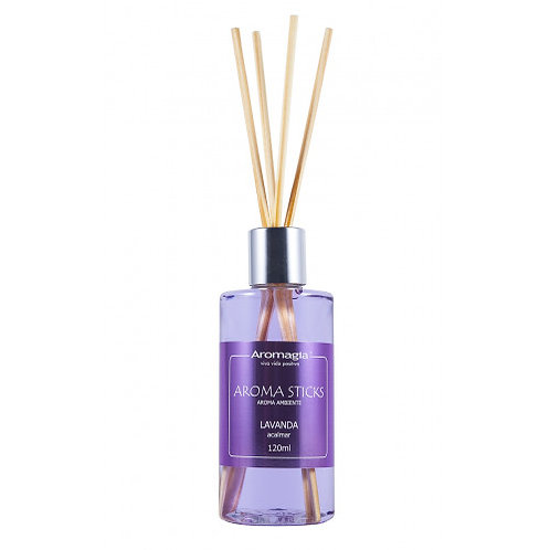Difusor por Varetas Aroma Stiks 120 ml (Lavanda)-Aromagia