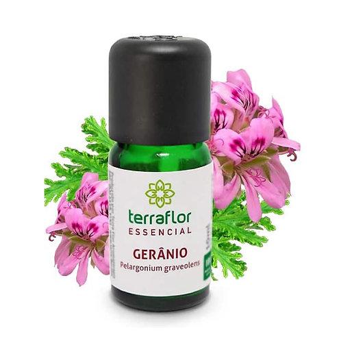 Óleo Essencial de Gerânio 10 ml – Terra Flor