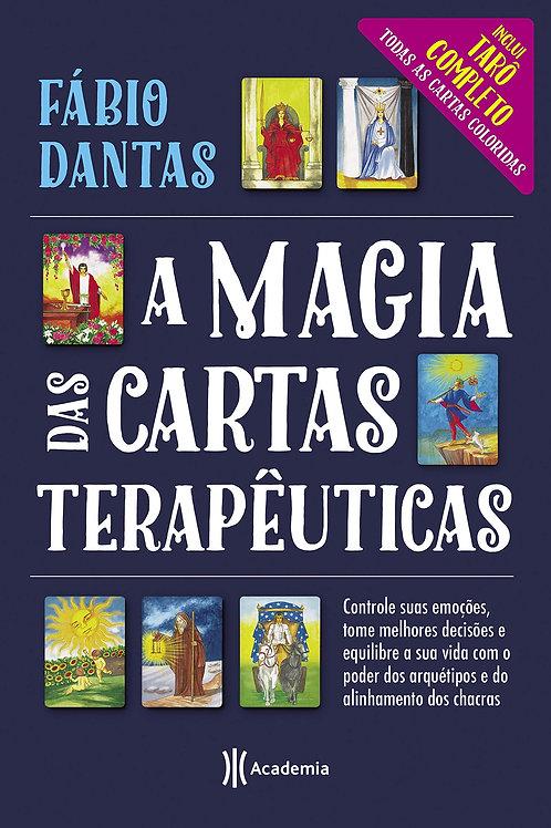 """Livro """"A Magia das Cartas Terapêuticas"""" - Fábio Dantas"""