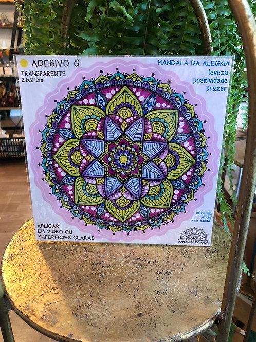 Adesivo Mandalas do Amor G (fundo transparente)