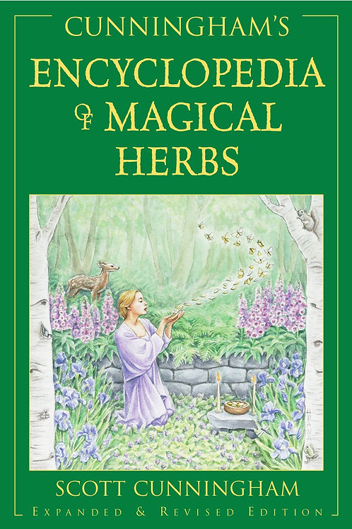 "Livro ""Encyclopedia of Magical Herbs"" - Scott Gunningham"