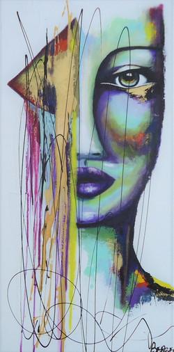Gold Woman, 30x15