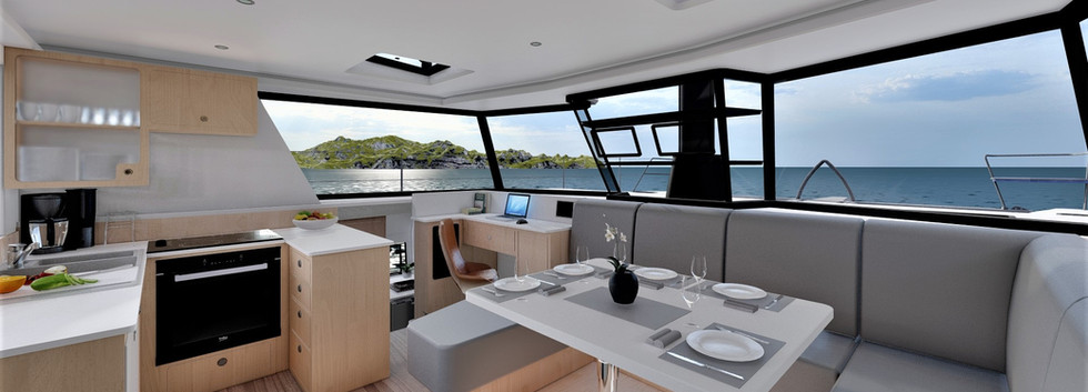 SF46 - Saloon & Galley Maple
