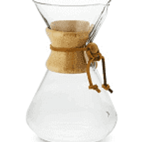 Chemex  Pour Over Glass Coffeemaker - 10 Cup
