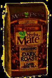 Loose Leaf Organic Mate Factor Yerba Mate Dark Roast Tea